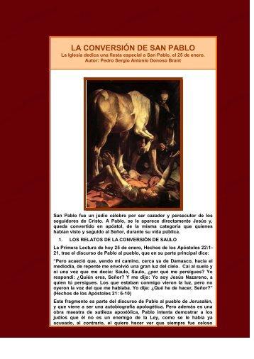 La Conversion de San Pablo - Homiletica.org