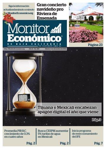 Tijuana y Mexicali encabezan apagón digital el año que viene