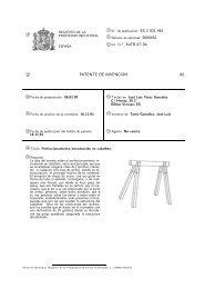 @51 Int. Cl.5: A47B 97/04 PATENTE DE INVENCION A6