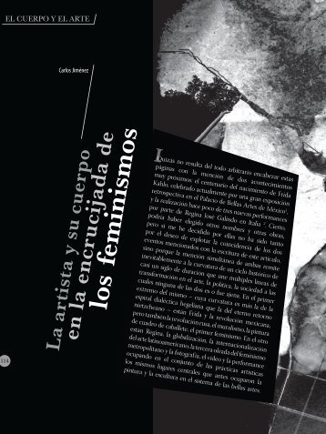 El artista y su cuerpo.pdf - Biblioteca Digital Universidad del Valle