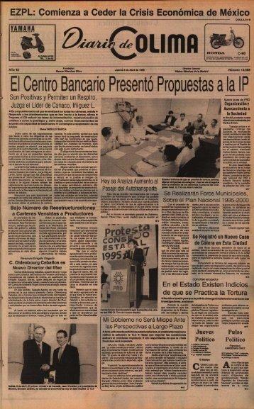 El Centro Bancario Presentó Propuestas a laIP - Universidad de ...