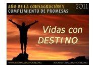 Vidas Con Destino. - Iglesia Yeshúa, Palabra & Poder