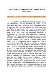 CRISTIANISMO,'EL COMUNISMO DE LA ... - LibreOpinion.com
