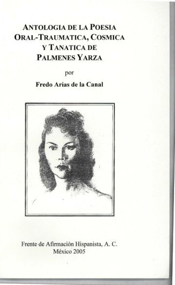 ANTOLOGIA DE LA POESIA ORAL-TRAUMATICA, COSMICA Y ...