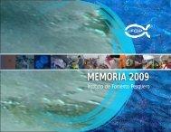 Memoria 2009 - Instituto de Fomento Pesquero