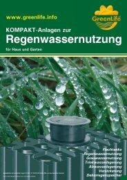 Haus- und Gartenanlage - Amres Regenwassernutzung