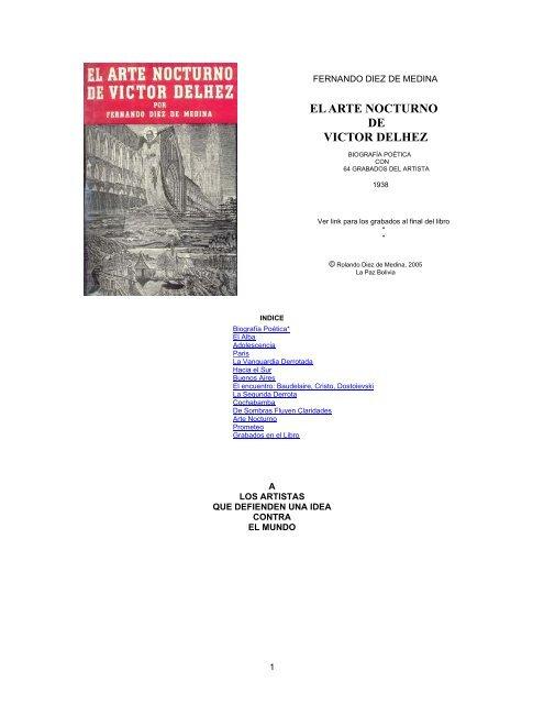 El Arte Nocturno De Victor Delhez Andes