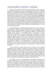 JESÚS PALOMINO. CONTEXTO Y LENGUAJE. - Jesus Palomino