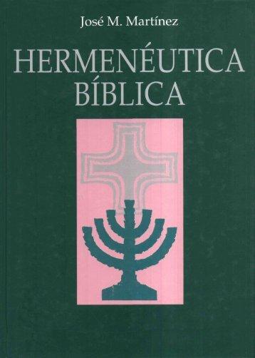 Hermenéutica Bíblica (José Martinez) - OpenDrive