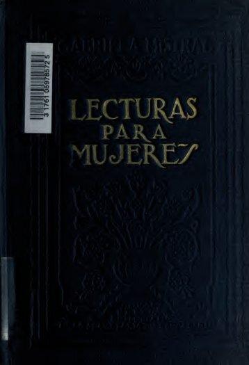 Lecturas para mujeres