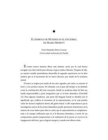 EL SÍMBOLO DE MUJERES EN EL ENCIERRO, DE MARÍA MORETT