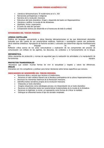 9° PER 2 CLASE N°4 Estructura del texto dramático - Cuaderno digital