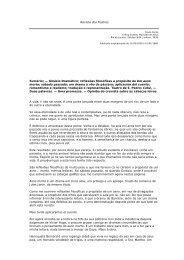 Revista dos Teatros Sumário; — Ginásio Dramático; reflexões ...