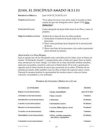 JUAN, EL DISCÍPULO AMADO (B.5.1.11)