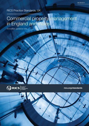 RICS Commercial property management in England and Wales