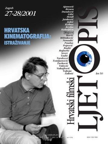 Zagreb 27-28/2001 - Hrvatski filmski savez