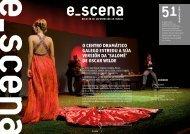 Boletín e_scena, número 51 - Centro Dramático Galego