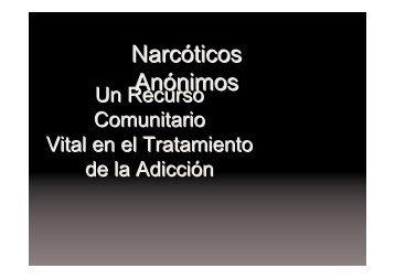 Presentación IP Argentina - Narcóticos Anónimos