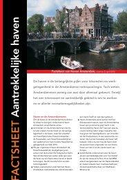 Algemene Factsheet - Haven Amsterdam