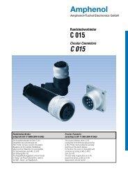 Katalog C015 (PDF) - Amphenol-Tuchel