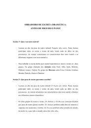 OBRADOIRO DE ESCRITA DRAMÁTICA: ANTES DE ERGUER O ...