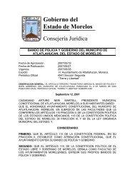 Gobierno del Estado de Morelos