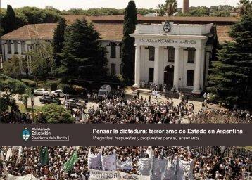 Pensar la Dictadura - Igualdadycalidadcba.gov.ar