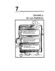DINAMICA DE LAS PERDIDAS - DISASTER info DESASTRES
