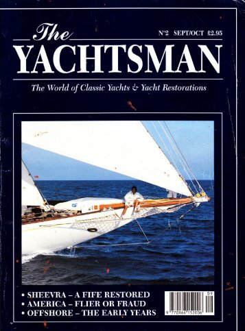 YACHTS MAN 1 - Wooden Boatworks