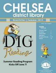 Summer Reading Program Kicks Off June 7!