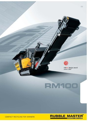 RM100 Folder - Rubble Master HMH GmbH