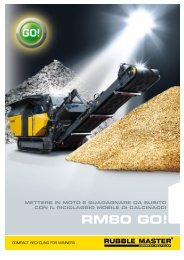 RM80 GO! Folder - Rubble Master HMH GmbH