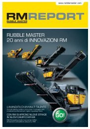 RM Report - Rubble Master HMH GmbH