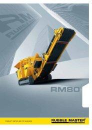 RM80 - Rubble Master HMH GmbH