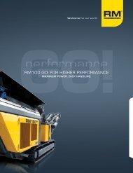rm100 go! - Rubble Master HMH GmbH