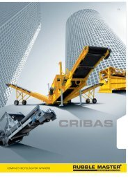 Cribas Folder - Rubble Master HMH GmbH