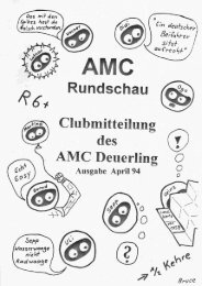 Amc-Rundschau vom April 1994 - AMC Deuerling