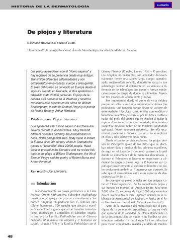 De piojos y literatura - El Médico Interactivo