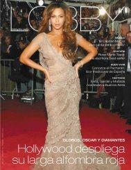 Hollywood despliega su larga alfombra roja - Lobby
