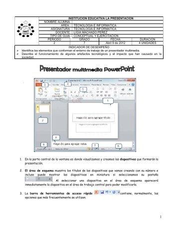 Presentador multimedia Power Point
