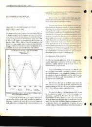 ECONOMÍA NACIONAL - Carta Económica Regional