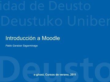 Introducción a Moodle - Software Libre - Universidad de Deusto