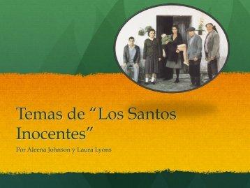 """Temas de """"Los Santos Inocentes"""" - wikites11"""