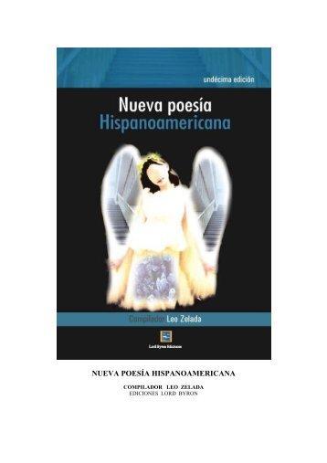 NUEVA POESÍA HISPANOAMERICANA - Rostros y Versos