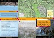Folleto Nacimiento del Río Cuervo - Cuenca Ambiental