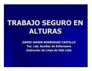 trabajo seguro en alturas - Consejo Colombiano de Seguridad