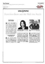 Die Presse 13.12.2010