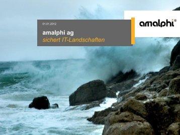 amalphi ag Unternehmen
