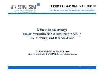 BREMER - Amt Breitenburg