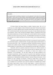 elena huerta: presencia del muralismo en saltillo - Universidad del ...
